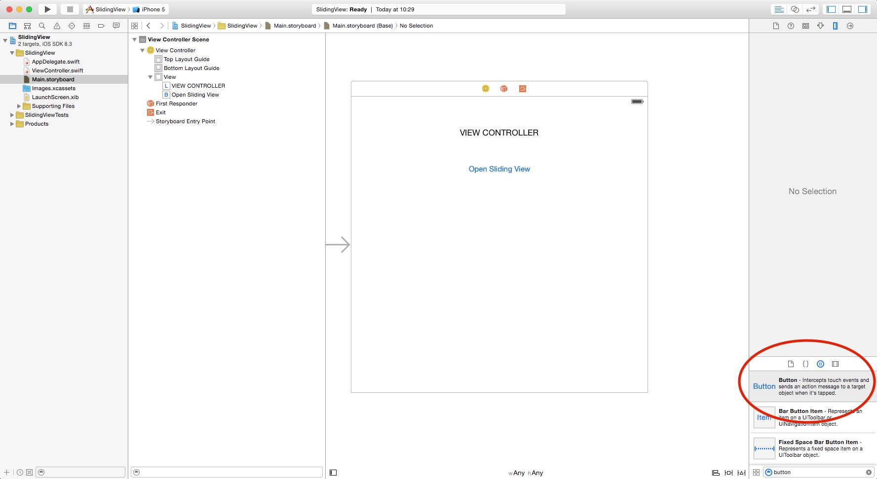 Simple Slider Tutorial Using Swift – Lunapip