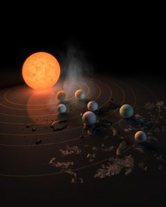 Dwarf Star Home To Seven Earth-Sized Planets